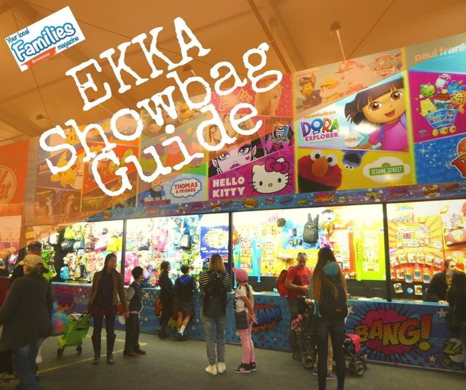 EKKA Showbag Guide 2018