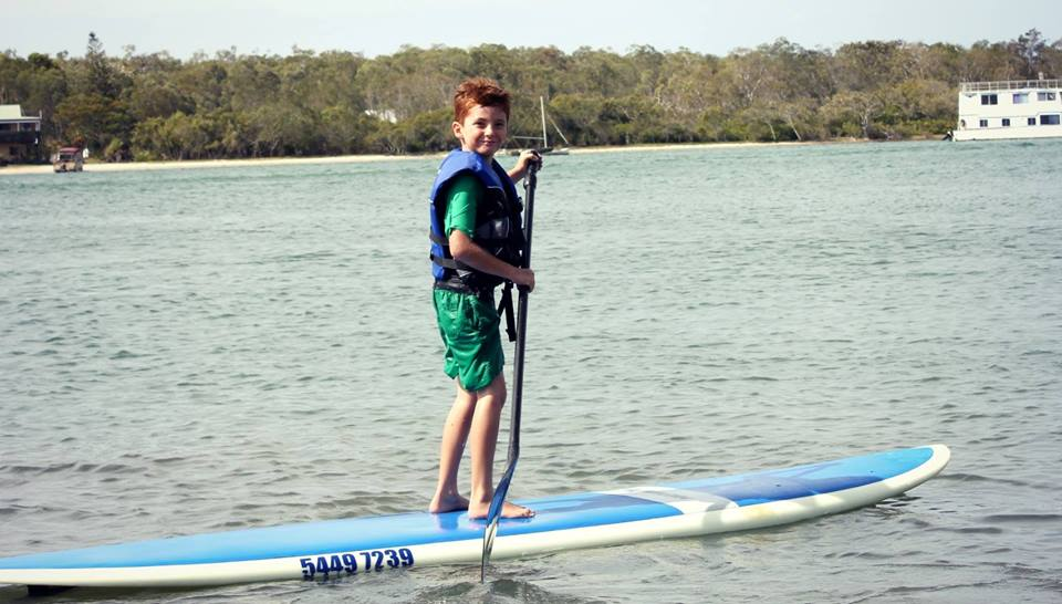 things to do in noosa with kids paddle board