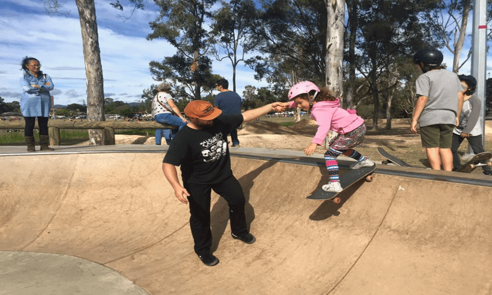 Learn to skate for free on gold coast