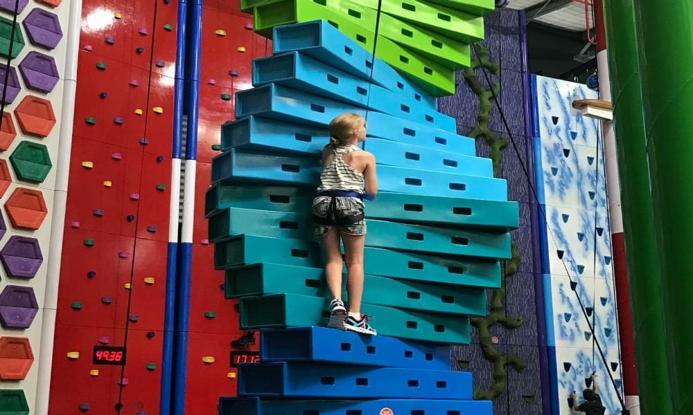 Kids Can Climb To New heights At Game Over 1