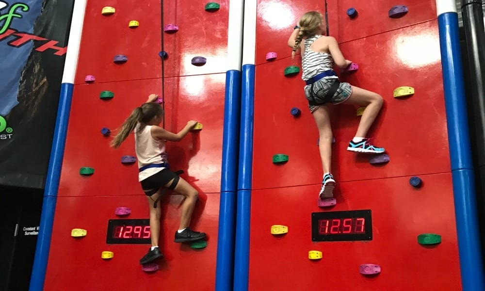 Kids Can Climb To New heights At Game Over 2