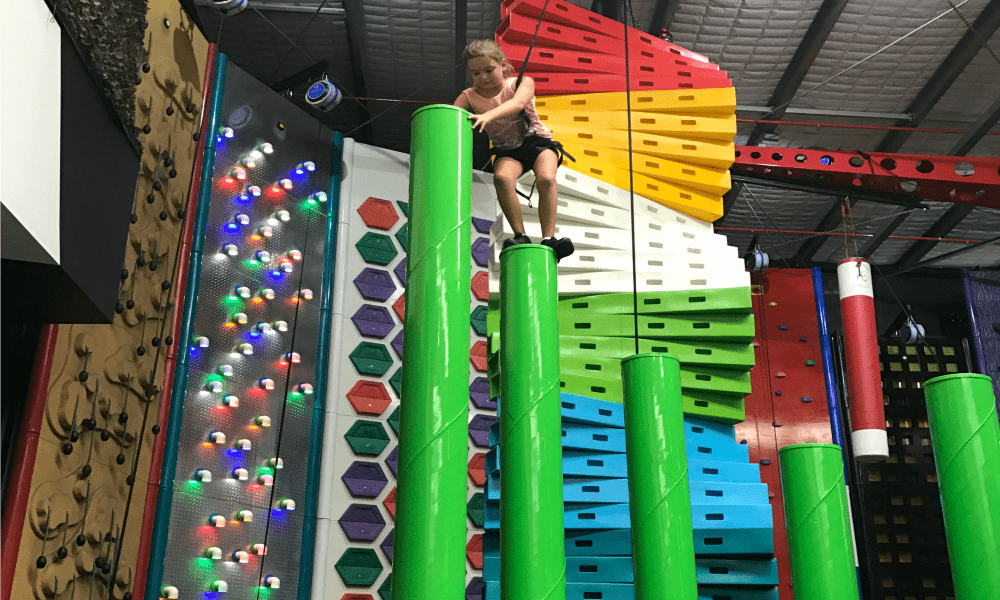 Kids Can Climb To New heights At Game Over 3