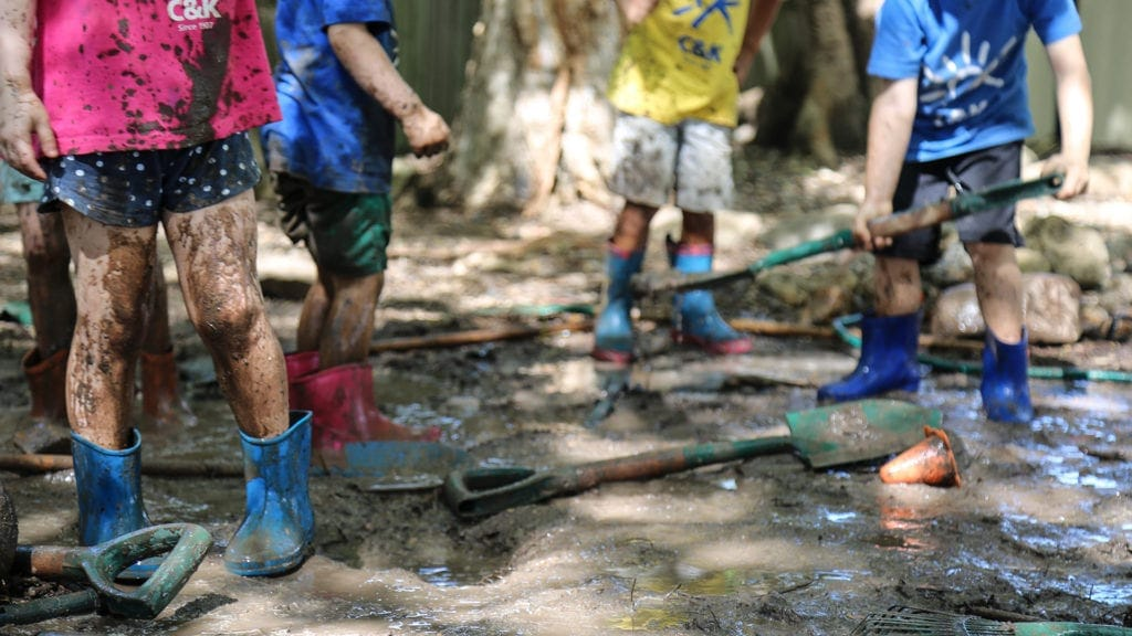 play-based learning nature play