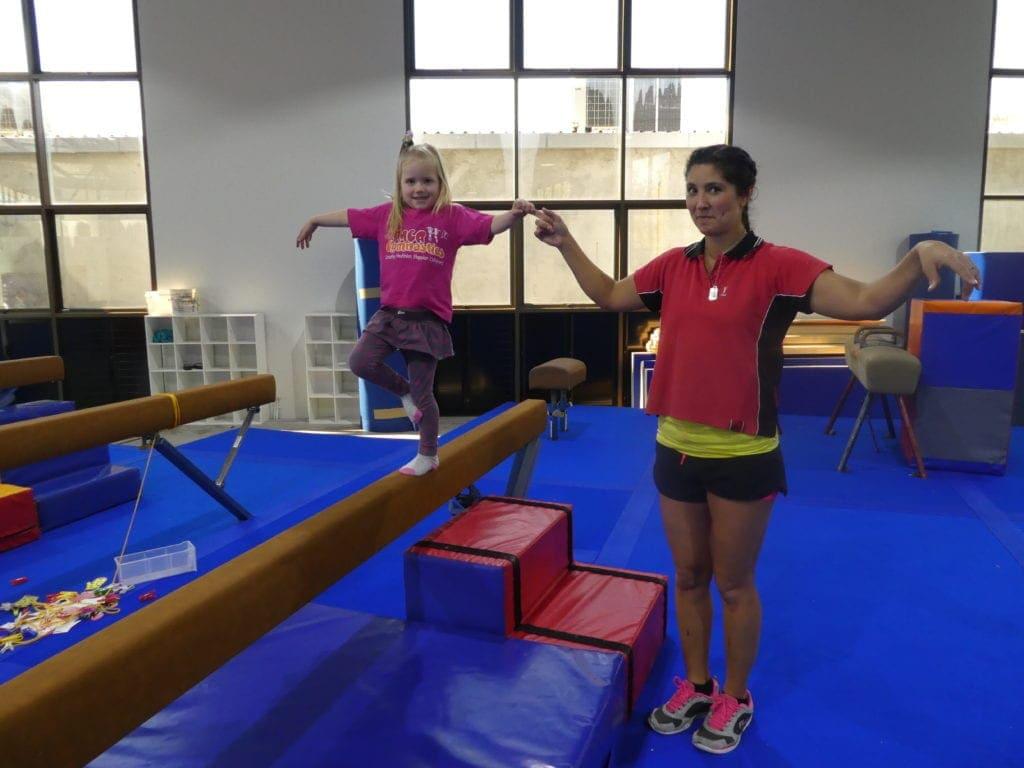 Gymnastics Brisbane balance