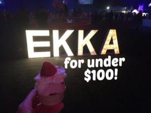 ekka for under 100