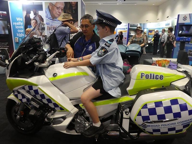 ekka police bike