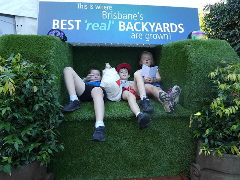 grass throne ekka