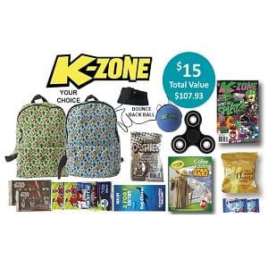 kzone showbag