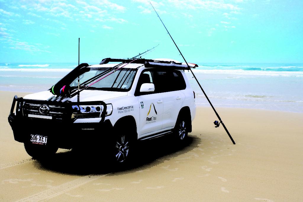 Fleetcrew 4WD Beach Fishing