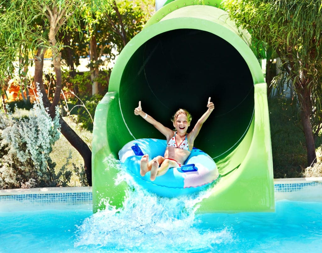 australia day with kids water park