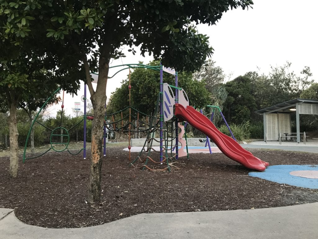kingscliff north holiday park playground
