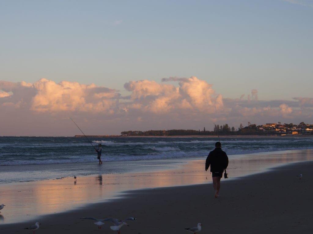 kingscliff north holiday park beach walk