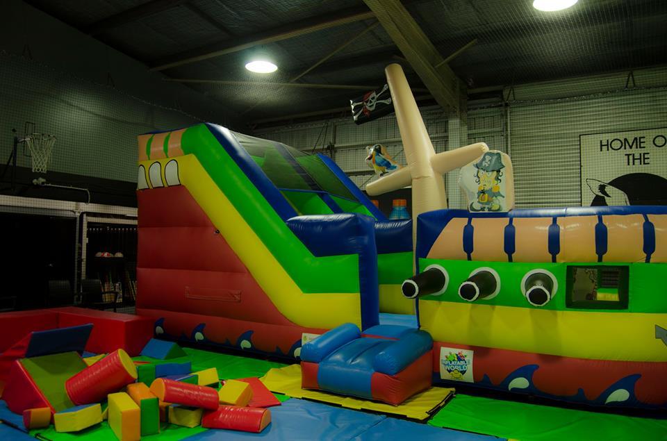 inflatable world brisbane equipment