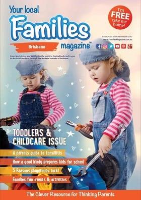 Families magazine brisbane issue 24 october november 2017