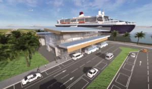Brisbane's international cruise terminal