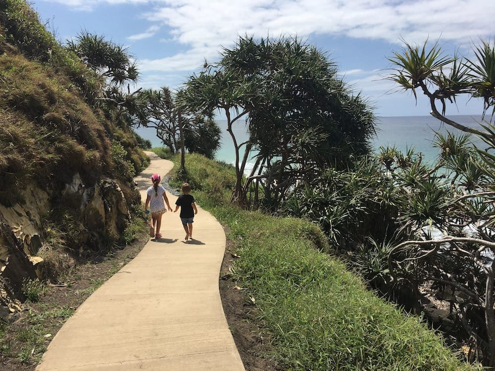 Burleigh Headland National Park Beach and Rainforest Walk for kids