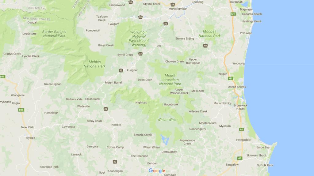 mount jerusalem national park map