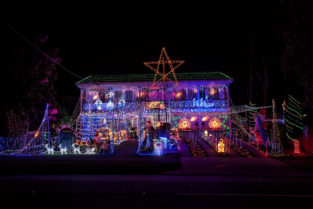 christmas lights brisbane west