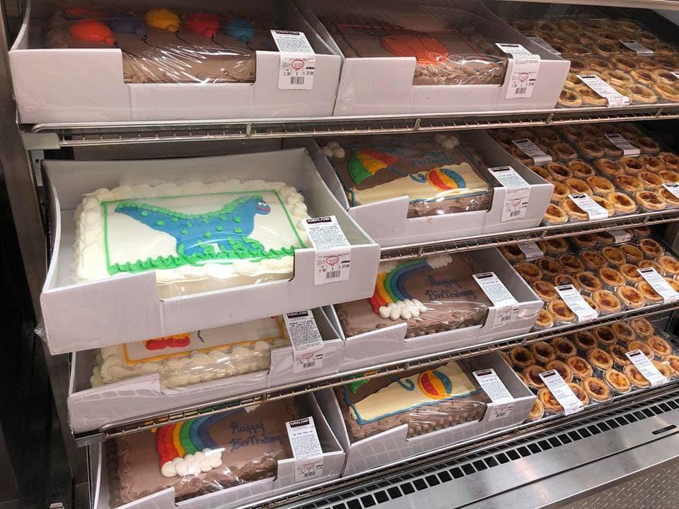 costco membership cakes