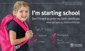 get a Birth Certificate for your child in Queensland