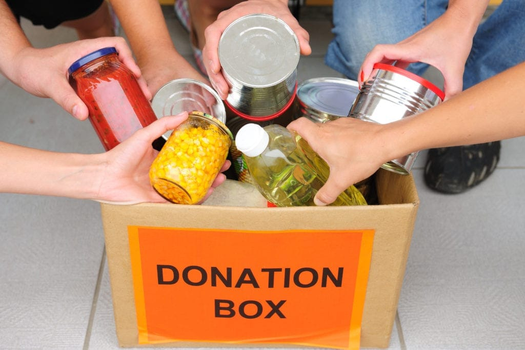 foodbank brisbane donation box