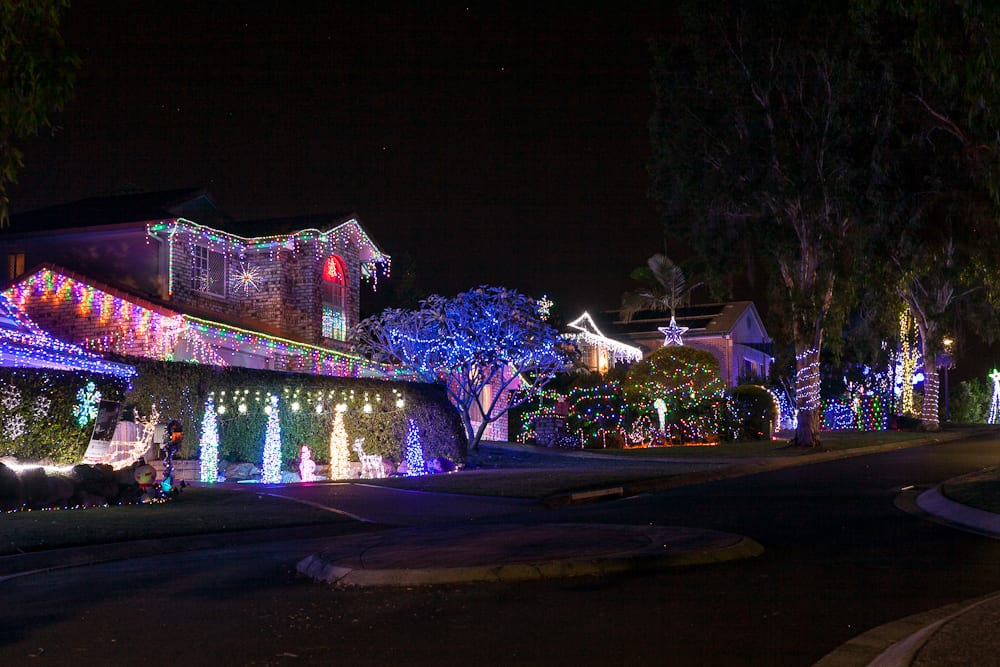 Christmas Lights - Best Brisbane Neighbourhood