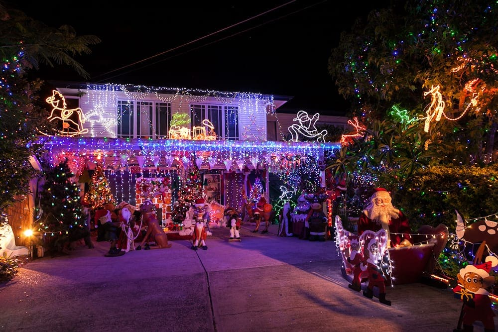 Huron Street Banyo Christmas Lights Brisbane - Christmas Lights Brisbane 2018 €� Easy MAP In BEST Route Order Tour