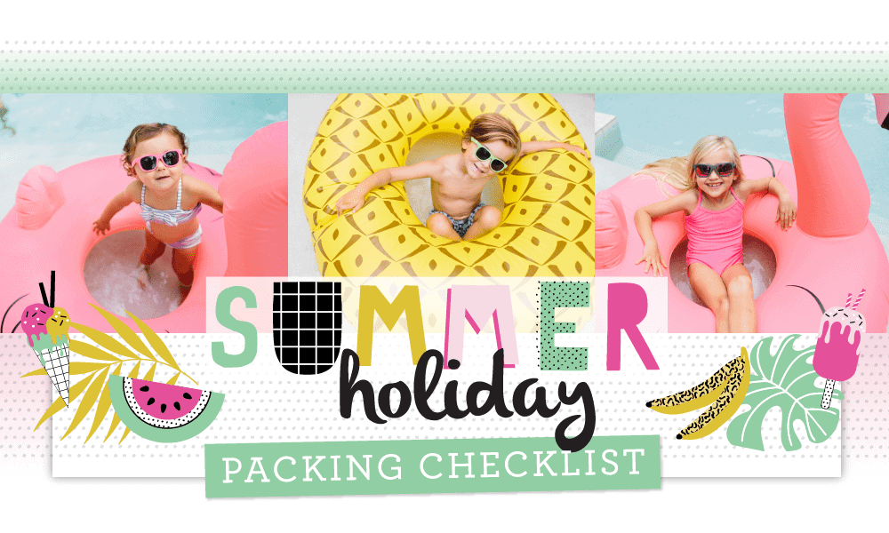 Summer Holiday Packing Checklist