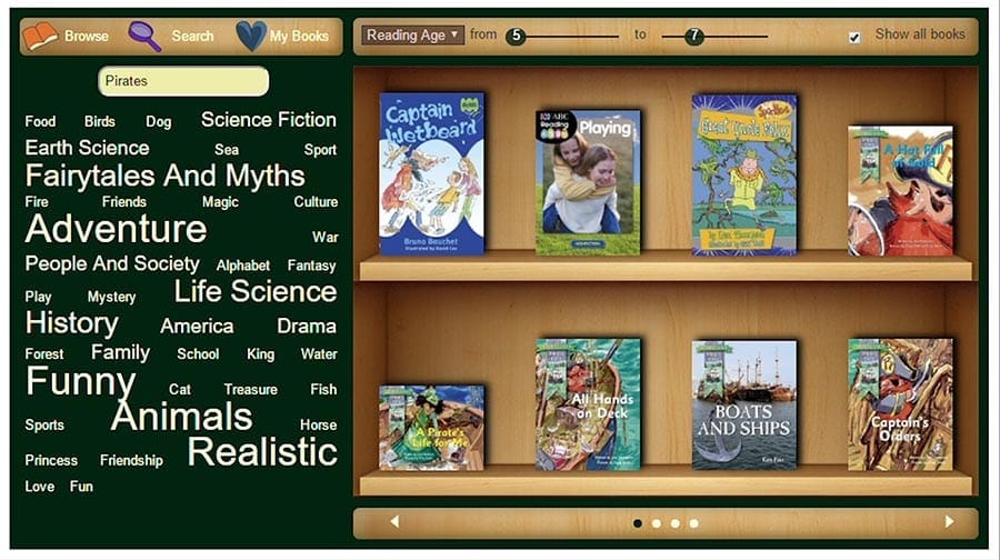 reading eggspress library