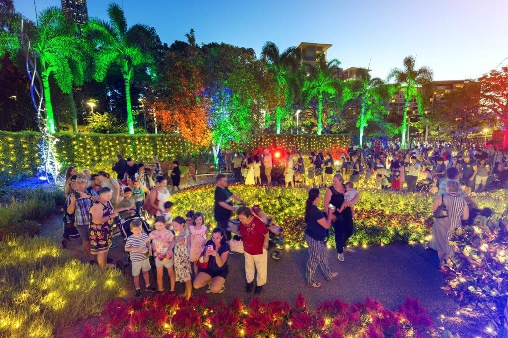 The Enchanted Garden Brisbane Christmas At Roma Street Parkland Families Magazine