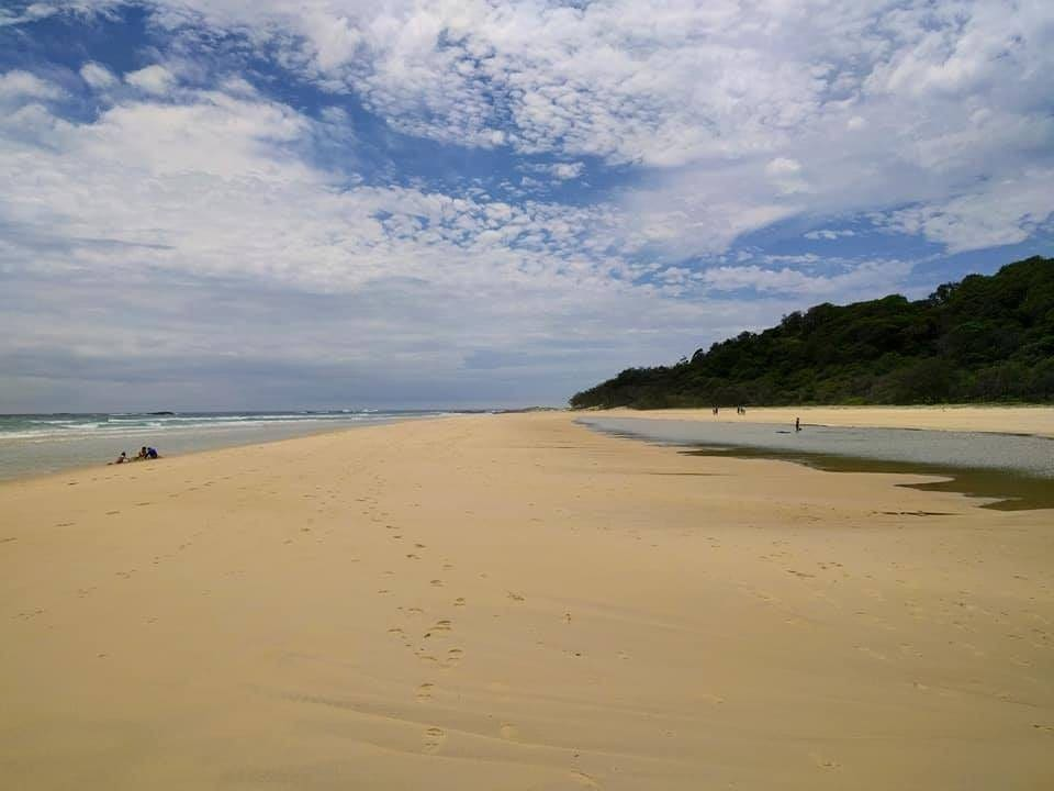 inskip point camping beach view