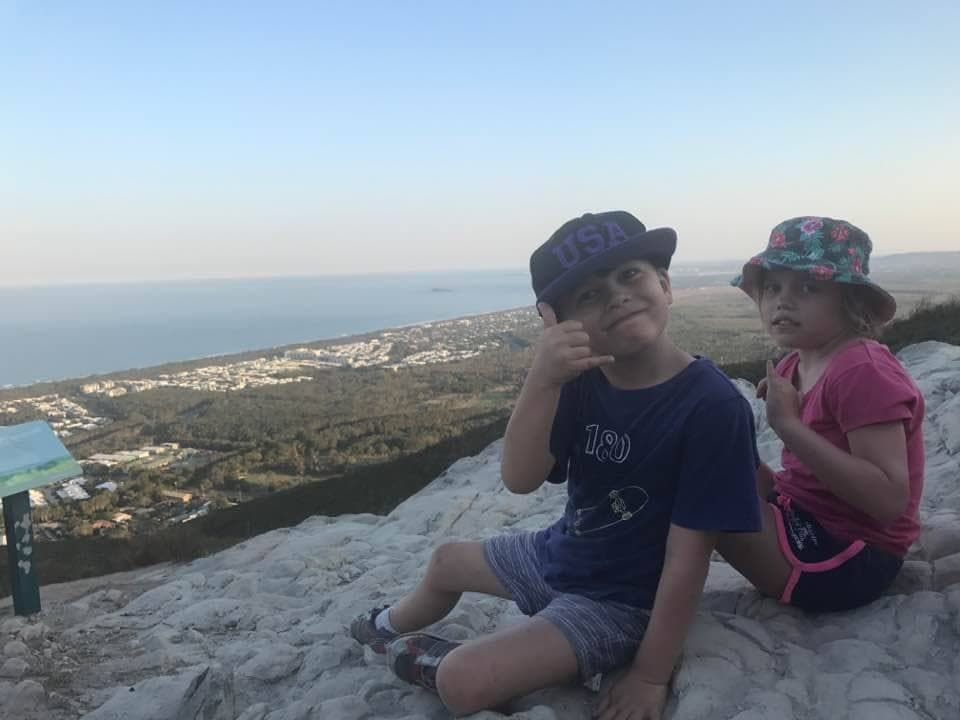 mt coolum with kids