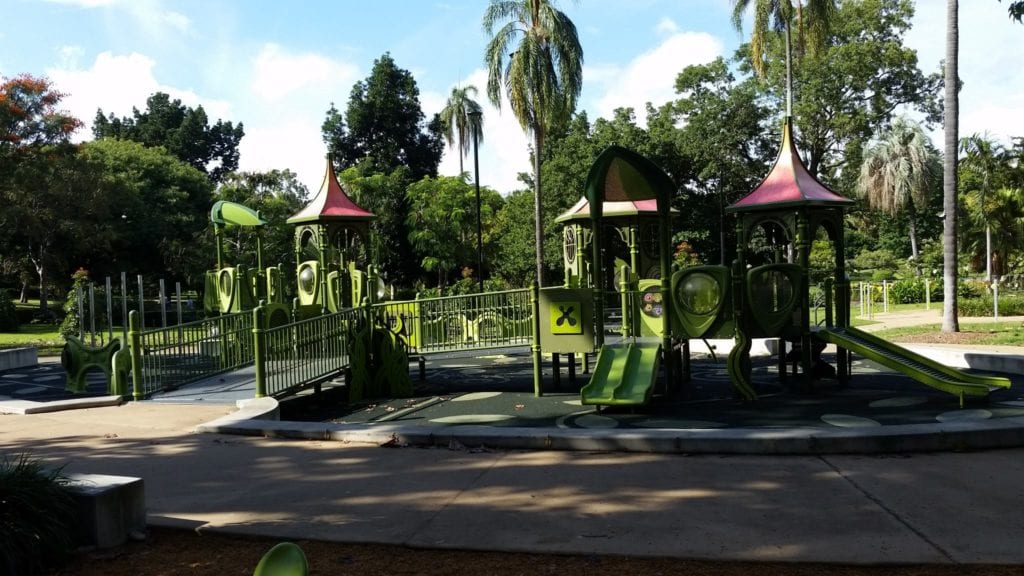 Brisbane Botanical Gardens Play Area