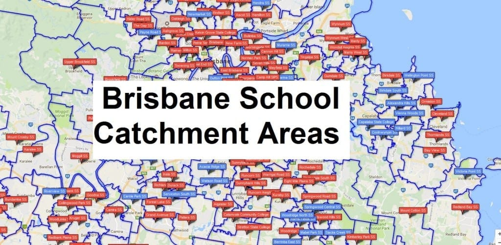 schools brisbane catchments