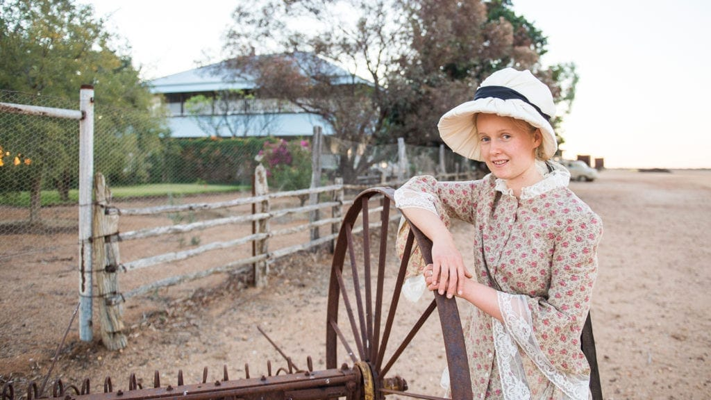 outback pioneers little girl