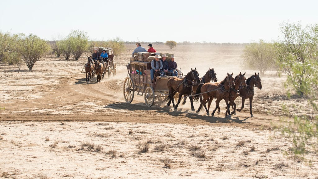 outback pioneers stagecoach