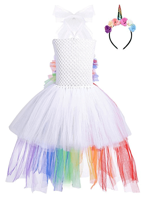 Children's Book Week costume idea unicorn dress