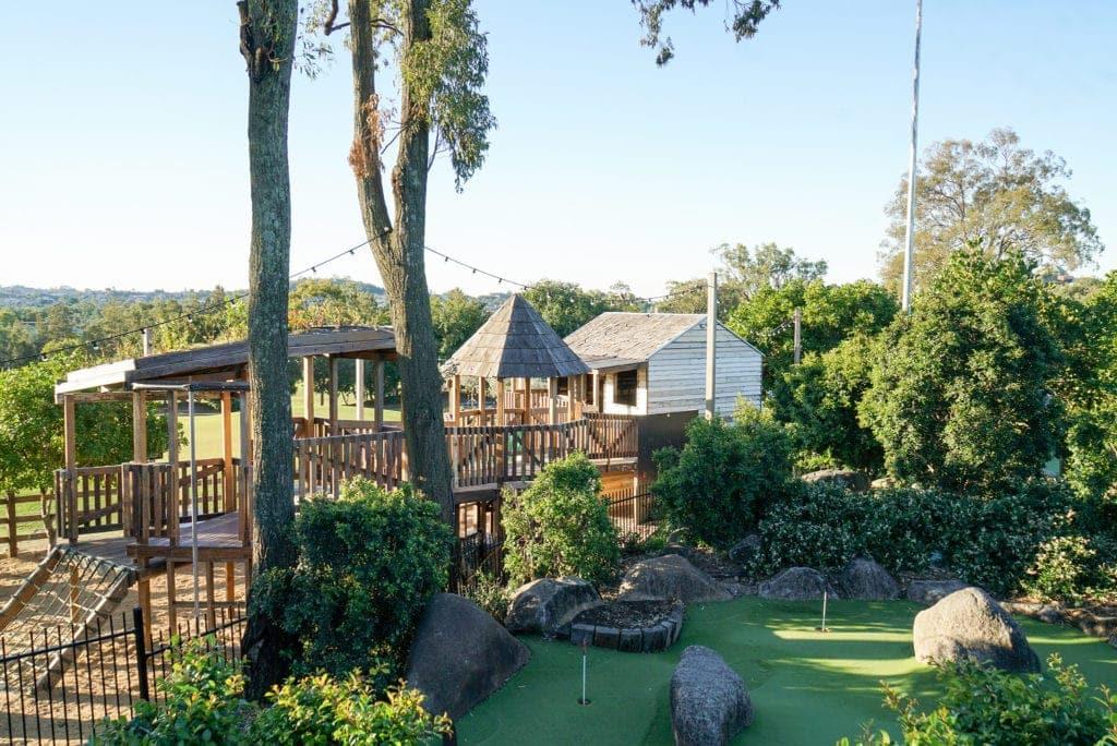 victoria park playground aerial shot