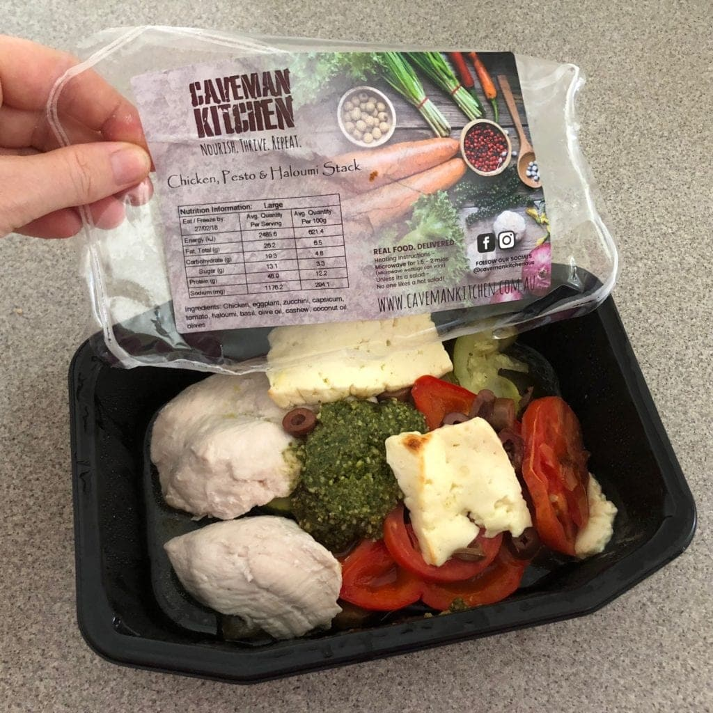 Caveman Kitchen : Caveman kitchen home delivered prepared meals review
