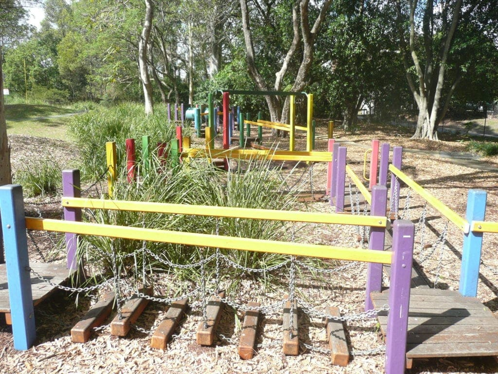 Colmslie Beach Reserve - playgrounds in south east queensland