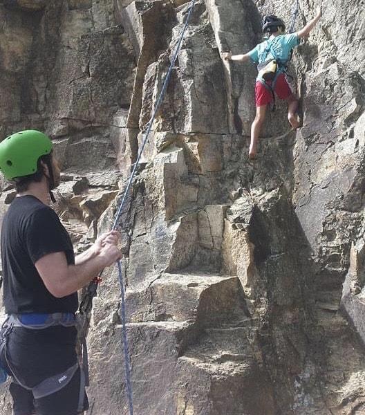 climbing cliffs