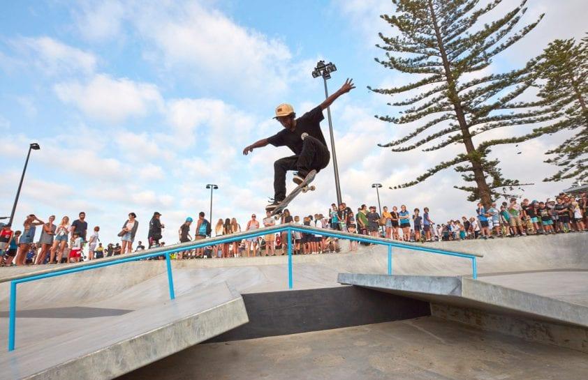 Alexandra Headland Skate Park - free Ekka public holiday