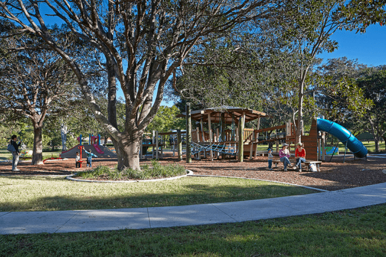 playgrounds in south east queensland