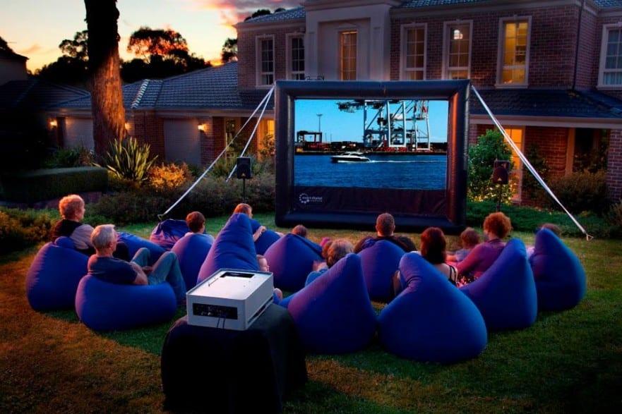 40th birthday party venues brisbane backyard cinema