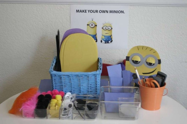 minions party ideas craft