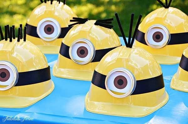 minions party ideas hats