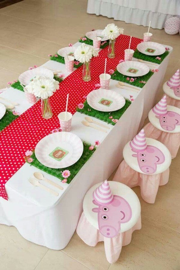 peppa pig party ideas decorations