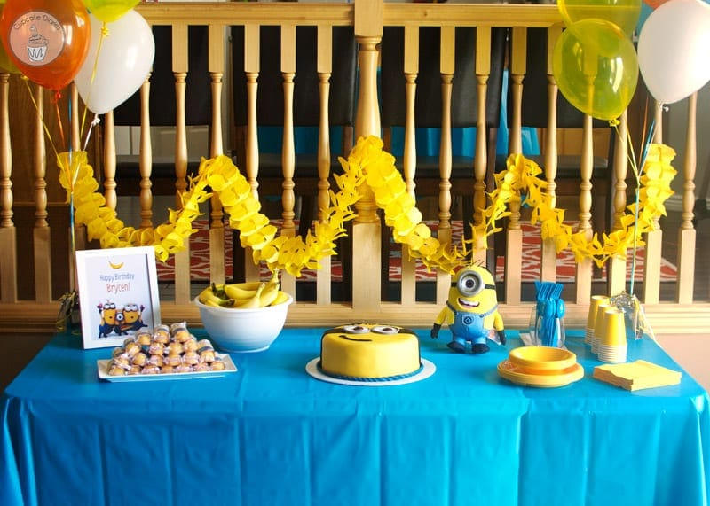 minions party ideas decorations