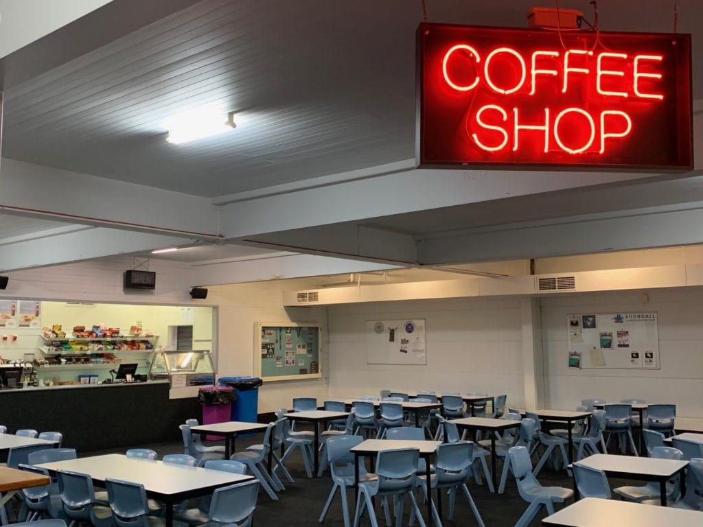 Iceworld Boondall coffee shop