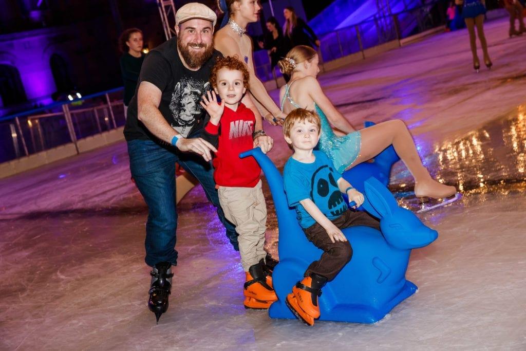 Ice Skating King George Square